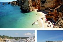Salema, Portugal / You want the Algarve's climate & beaches but not the commercialised development? Then try the Blue-Flag golden sands of pretty Salema - recently voted in the Top 50 Beaches in the World (Guardian February 2016)