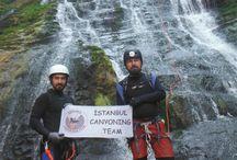 Müflisdere Kanyonu ict - istanbul canyoning team 2015 08 01