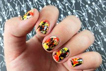 Fun for All Nails: Splatter