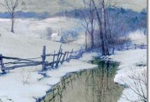winter by monestad ,walter...o.l