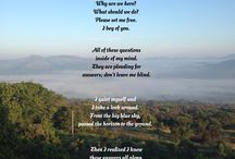 My poems / Poetry