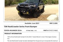 Toyota 4 Runner TJM products