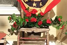 Front porch decor / by Alicia Wyrick Warner