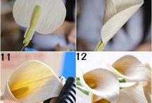 papierové kvety krepove