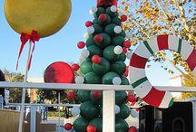 Christmas float