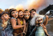 the CROODS / A terrific romp from the folks who brought you How to Train Your Dragon. And finally, a heroine who isn't another scrawny stick chick Barbie doll.