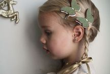 Hair clips, bows, headbands