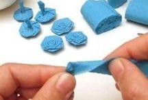latkove kvety ,kvety vyrobene z latky