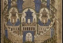 Middle Ages - illuminations, manuscripts