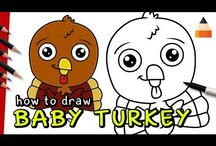 How to draw (videos) / Watch and learn how to draw funny cartoons, movie characters, animals, food and much more with let's draw kids.