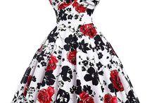 Robes des années 50