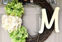 Wreaths to DIY