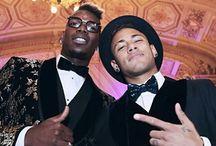 Neymar i Paul Pogba