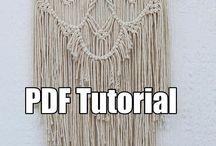 Macrame patterns tutorials