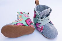 Soft Sole Finnbear Hightop Baby & Kids Shoes / Handcrafted baby hightop boxing boots created in a bright, bold fabrics. Soft and flexible, this cute little pair are perfect for little growing feet while looking super cute at the same time!