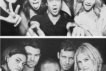 Vampire diaries and The Originals