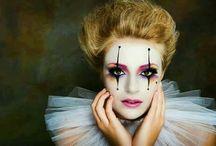 doll makeup halloween