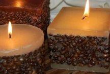 A la luz de una vela ! / ... A media luz
