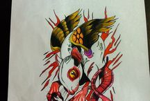 Sketch-Artwork-Tattoo design