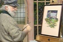 Garry Jenkins, painting