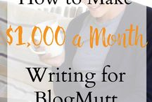 Make Money Blogging / Great tips on how to make money blogging  blogging income