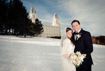 Manti, UT Temple wedding