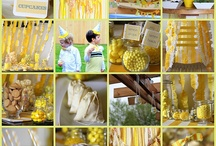 YELLOW Party Ideas