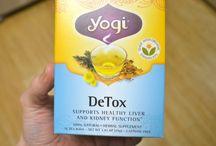 Fusion / herbal detox drink/tea moodboard
