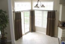 Window Treatments for Sliding Glass Doors / Window treatments for sliding glass doors, patio doors and kitchens. Window treatment ideas for large windows. Window Treatments Toledo Ohio - Bellagio Window Fashions  / by Window Treatments