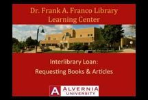 Research Tutorials / Need research help?  Find it here! / by Alvernia Library
