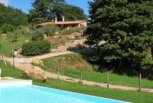 Monna farm house in Tuscany - Castelnuovo Val di Cecina / Monna is an ancient farmhouse restored by the owners maintaining the traditions of the rural houses of these places. Two apartments for 7 and 4 people, each with its own kitchen, dining and living areas and al fresco dining terrace. Large gardens and a very big pool are waiting for your hot Summer Holidays in this Tuscan unspoilt valley. Take a look at http://www.ericavaccari.com/agriturismo-monna-Tuscany/