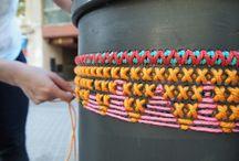 Yarn boombing