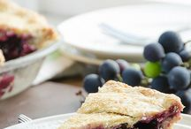 Grape pie/cheese cake/Muffin/crumble