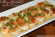scalopps and shrimp