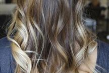 Hair colors & styling