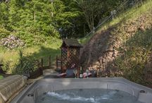 Hot Tubs At The Luxury Dog Friendly Quantock Cottages In Somerset England