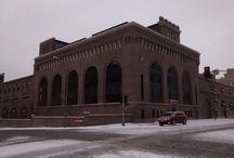 Belediye hizmet binası