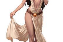 diosas, princesas & guerreras