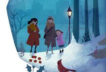 Ilustraciones navideñas da