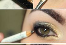 Make up / don't wear to much make up but a bit will look GREAT!!!! Try some of these ideas