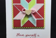 Stampin Up - Christmas Quilt