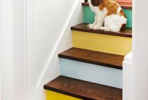 Inspiration for Painting Stairs / Create your own stairway to heaven with Sherwin-Williams paint colors. From an all-over color fix to creative accents, discover inspiration for painting stairs.