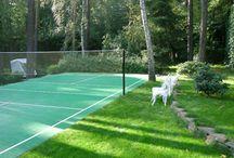 Волейбольная площадка