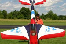 RC model vliegen