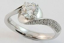 Abrecht Bird diamond engagment rings