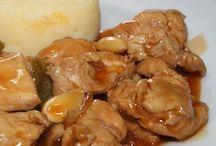 Preparaciones con pollo