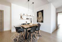 Afro Kitchen & livingroom