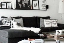Black and White / Decor and design