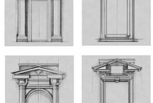 Drawings classic architecture
