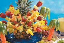 Gr 7 dinner - Tropical